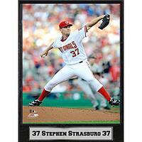 Washington Nationals Stephen Strasburg 9x12-inch Plaque