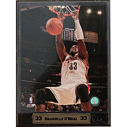 Cleveland Cavaliers Shaquille O'Neal Photograph 9x12-inch Plaque