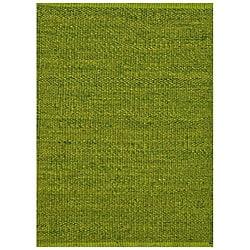 Hand Woven Green Jute Rug (8u0027 X ...