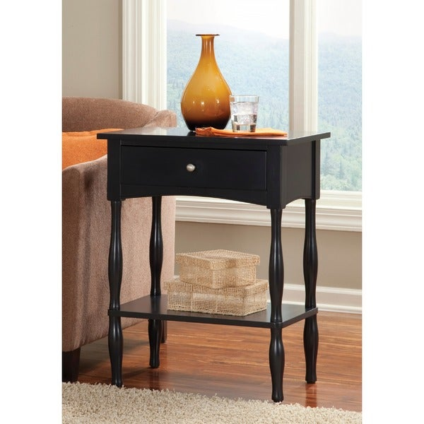 Copper Grove Daintree Black End Table
