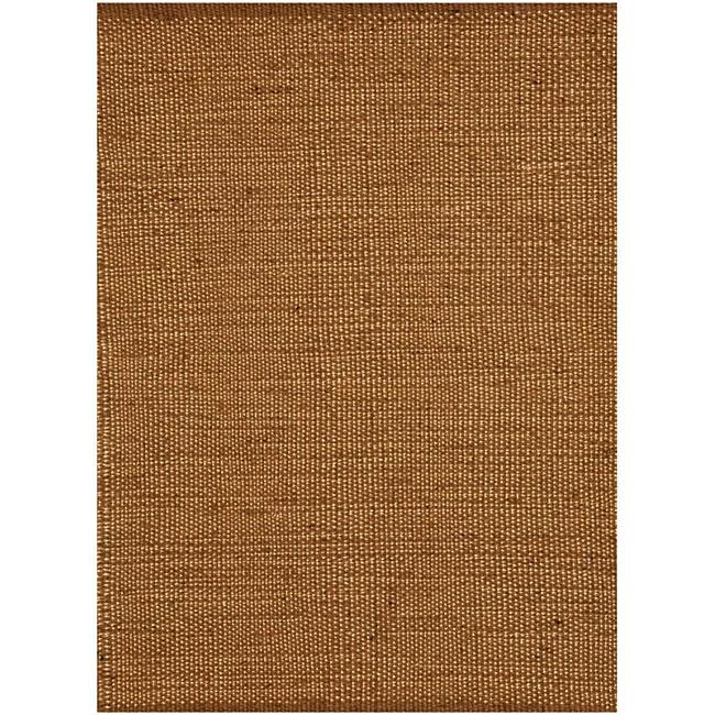 Hand-woven Natural Jute Rug (5'x 8')