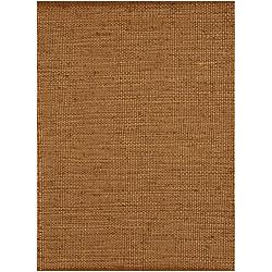 Hand-woven Natural Jute Rug (6'x 9')
