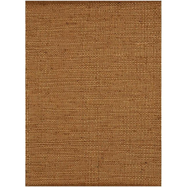 Hand-Woven Casual Natural Jute Rug (8' x 11')