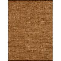 Hand-Woven Casual Natural Jute Rug (8' x 11') - 8' x 11'