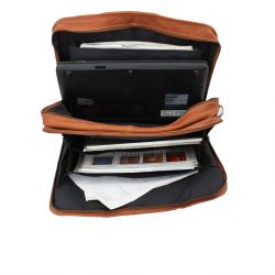 Vaquetta Handcrafted Top Grain Leather Overnighter Briefcase - Thumbnail 1