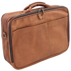 Vaquetta Handcrafted Top Grain Leather Overnighter Briefcase - Thumbnail 2