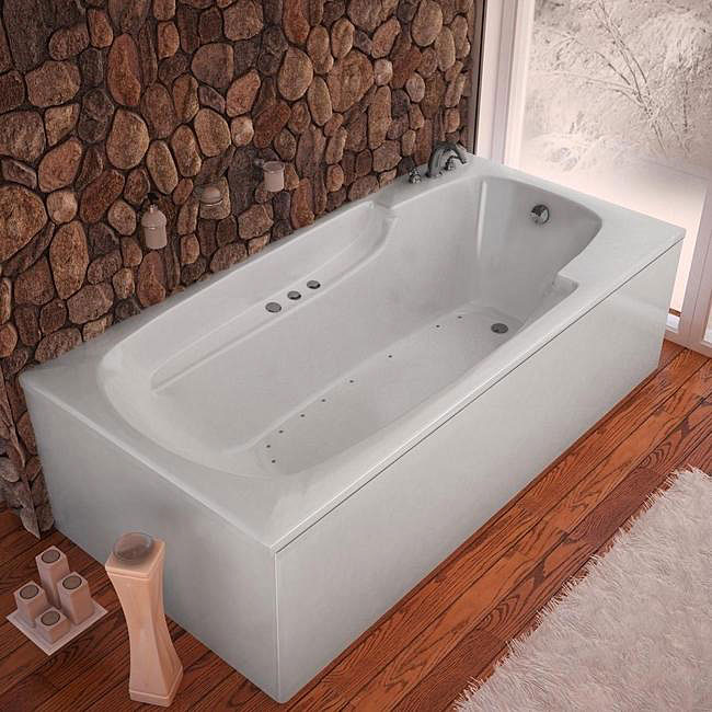 Beautiful Deep Tub Small Bathroom Huge Bath Vanities New Jersey Rectangular Tile Backsplash In Bathroom Pictures Beautiful Bathrooms With Shower Curtains Youthful Build Your Own Bathroom Vanity RedNatural Stone Bathroom Tiles Uk Eros White 60x32 Inch Air Tub   Free Shipping Today   Overstock ..