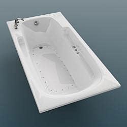 Eros White 60x32-inch Air Tub