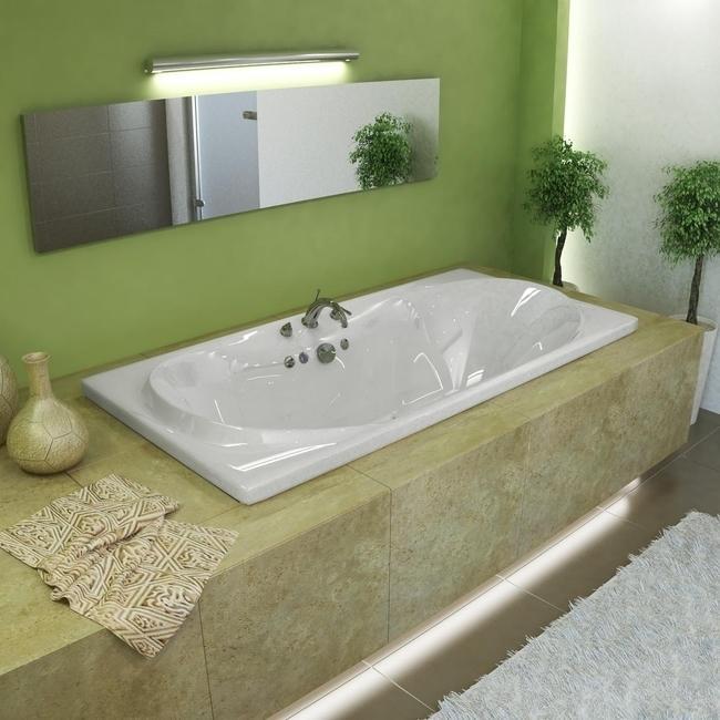 Whisper White 72x36-inch Air Tub