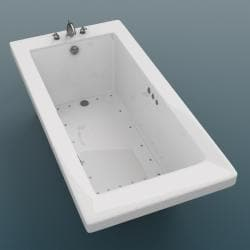 Venetian 72 x 36 White Air Tub - Thumbnail 2