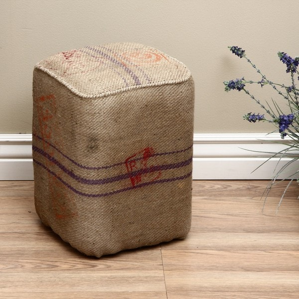 Burlap Bardana Stool (India)