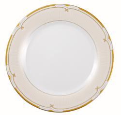 Lorren Home Gold Paris 49-piece Dinnerware Set