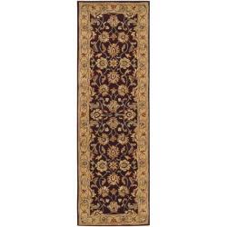 Hand-tufted Casa Plum Wool Rug (2'6 x 8')