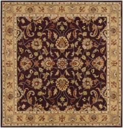 Hand-tufted Casa Plum Wool Rug (9'9 x 9'9)