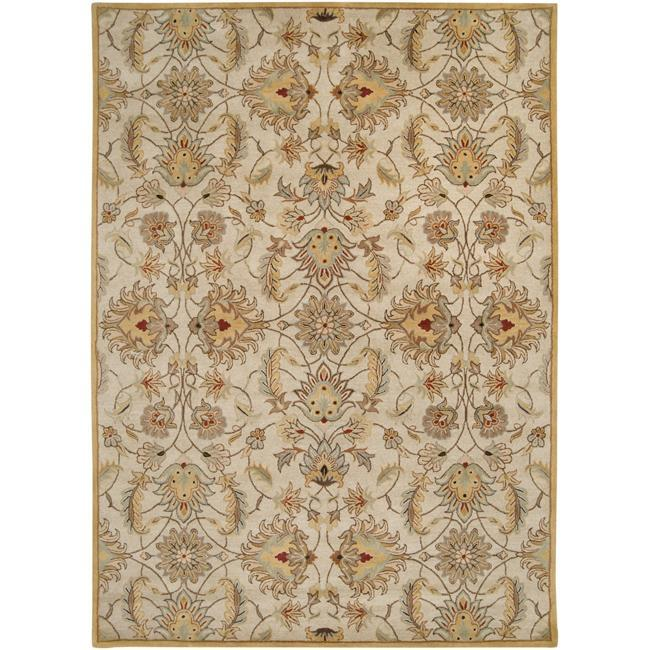 Hand-tufted Stage Gold Wool Area Rug (8' x 11')