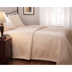 Roxbury Park Quilted King-size Ecru Coverlet
