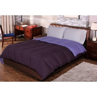 Superior All-season Luxurious Reversible Down Alternative Comforter (2 options available)