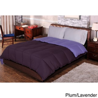 Superior All-season Luxurious Reversible Down Alternative Comforter (More options available)