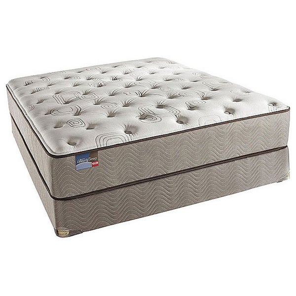 Simmons BeautySleep North Farm Plush Queen-size Mattress Set