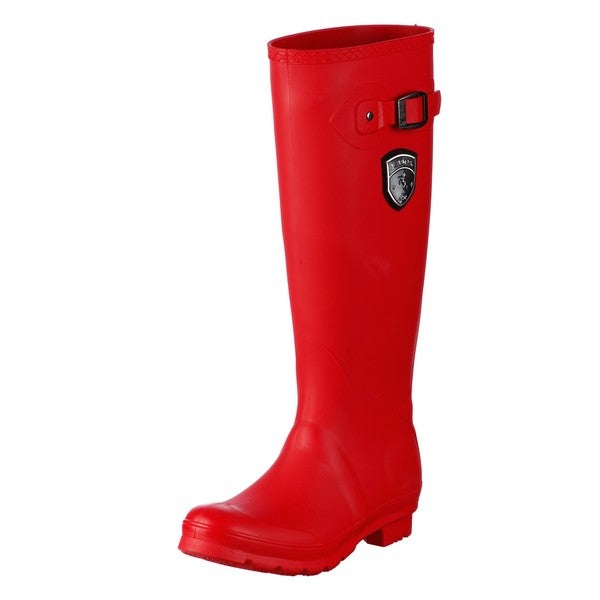Kamik Womens 'Jennifer' Red Rain Boots - Free Shipping On Orders ...