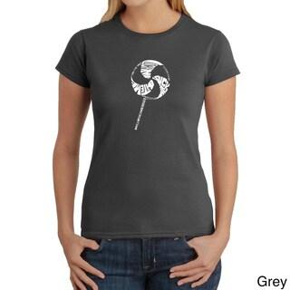 Los Angeles Pop Art Women's 'Lollipop' T-shirt