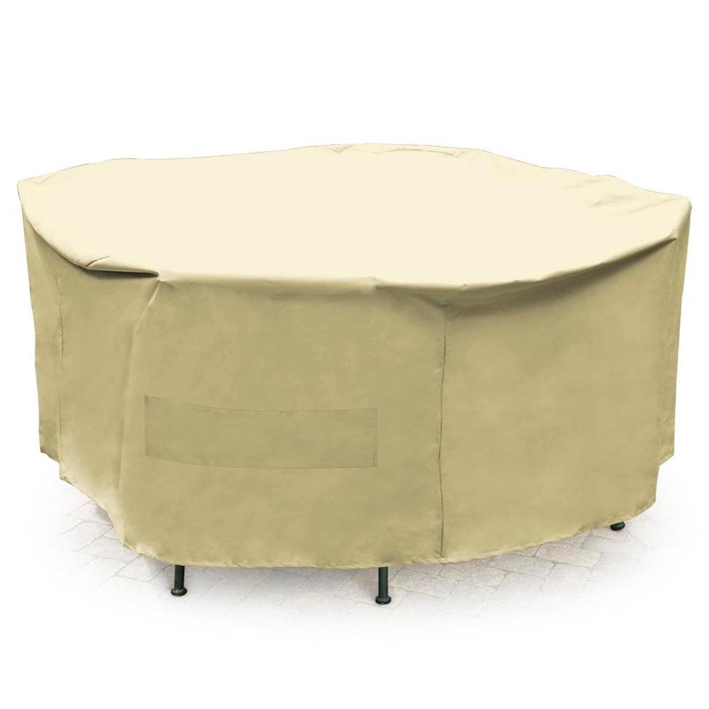 Mr. BBQ Premium Round Full-size Patio Set Cover