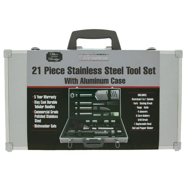 Mr. BBQ 21-piece Stainless Steel Grill Set