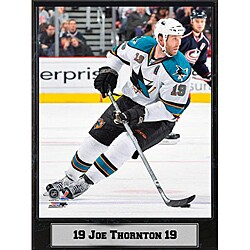 Encore Select San Jose Sharks Joe Thornton Plaque