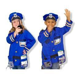 Melissa & Doug Police Officer Role Play Costume Set - Thumbnail 0
