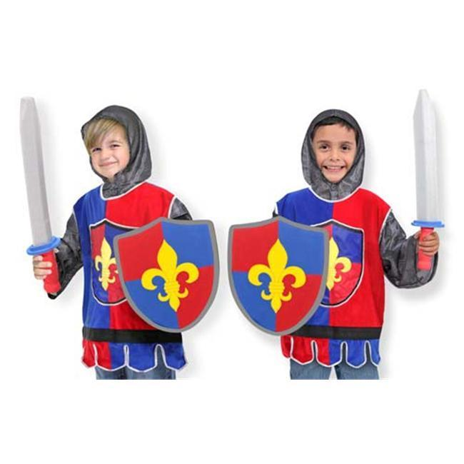 Melissa and Doug Knight Role Play Costume Set, Toddler Bo...