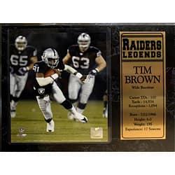 Encore Select Oakland Raiders Tim Brown Plaque|https://ak1.ostkcdn.com/images/products/5889825/Encore-Select-Oakland-Raiders-Tim-Brown-Plaque-P13596810.jpg?impolicy=medium