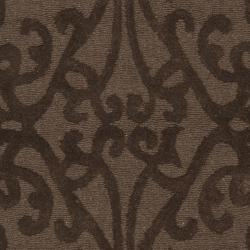 Safavieh Handmade Irongate Brown New Zealand Wool Runner (2'3 x 8') - Thumbnail 2