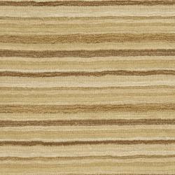 Safavieh Handmade Stripes Ivory/ Brown New Zealand Wool Runner (2'3 x 8') - Thumbnail 2