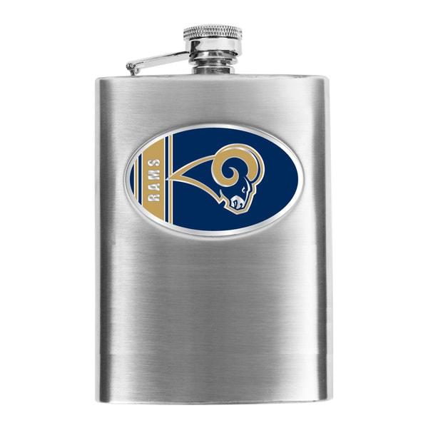 Simran St. Louis Rams Hip Flask