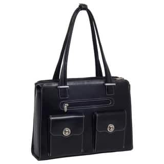 McKlein Women's Verona Checkpoint-friendly 15.4-inch Laptop Briefcase|https://ak1.ostkcdn.com/images/products/5893728/P13600502.jpg?impolicy=medium