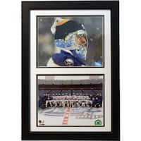 Buffalo Sabres Ryan Miller 12x18 Double Frame