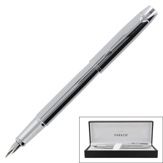 Parker IM Chrome CT Medium-point Fountain Pen