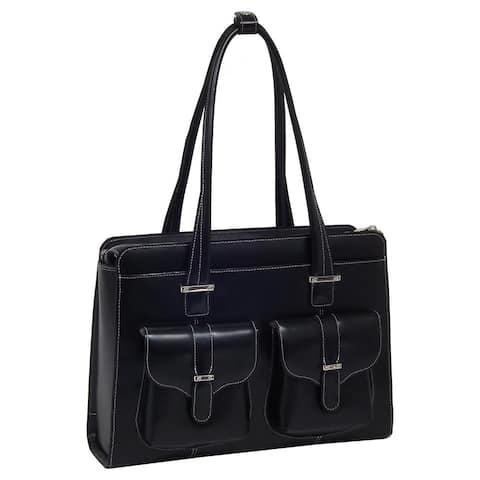 McKlein Women's Alexis Leather 14-inch Laptop Briefcase