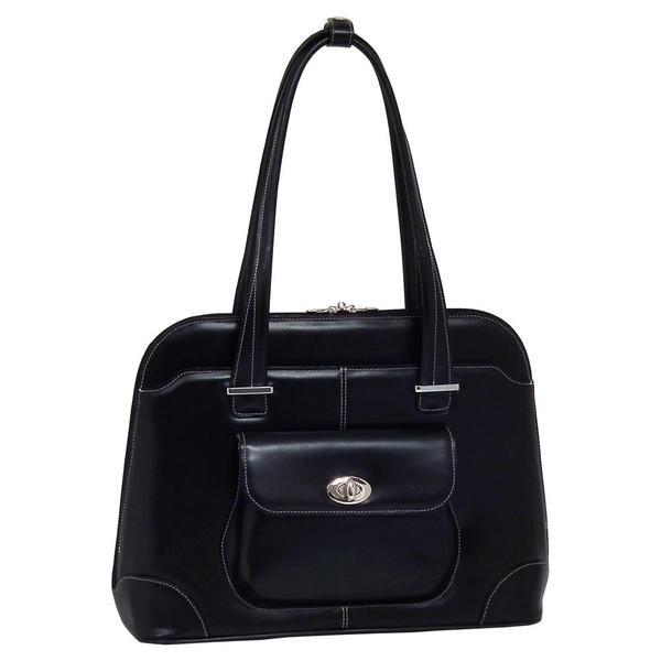 McKlein Avon Women's Leather 15.4-inch Laptop Briefcase
