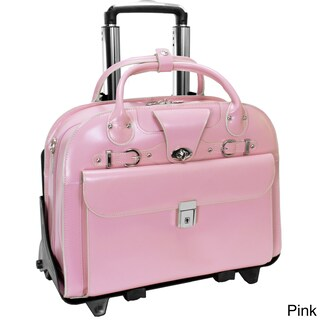 McKlein Roseville Checkpoint-friendly 15.4-inch Rolling Laptop Briefcase