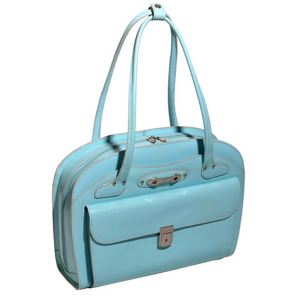 McKlein Women's Lyndon Leather 15.4-inch Laptop Briefcase