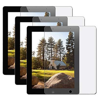 INSTEN Screen Protector for Apple iPad 2 (Pack of 3)