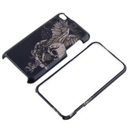 Snap-on Skull Wing Case for Apple iPod Touch 4th Gen - Thumbnail 1