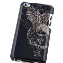 Snap-on Skull Wing Case for Apple iPod Touch 4th Gen - Thumbnail 2