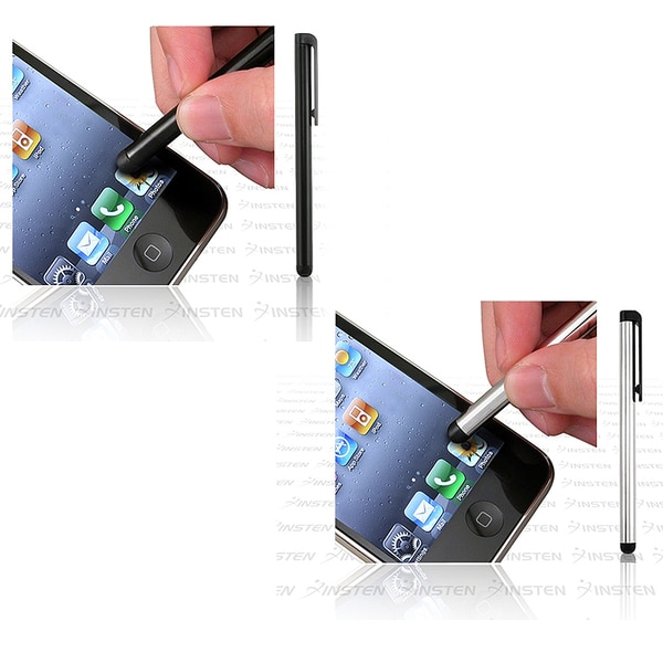 INSTEN Touch Screen Stylus for Android HTC LG Apple iPod/ iPad/ iPhone 4S/ 5S/ 6