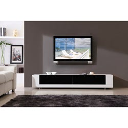 Roma White 2-drawer TV Stand
