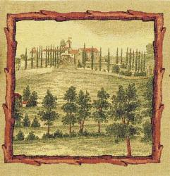 Country Manor European Tapestry Wall Hanging - Thumbnail 1