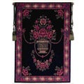 Jeweled Flower Urn Tapestry Wall Hanging