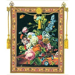 Tuscany European Multicolored Tapestry Wall Hanging
