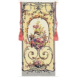 Flowered Garlands European Tapestry Wall Hanging
